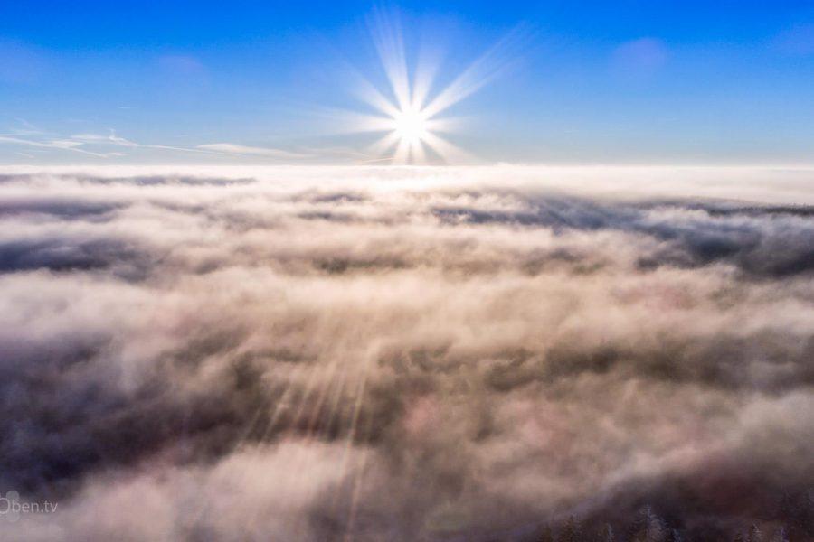 Sonnenaufgang am Rennsteig
