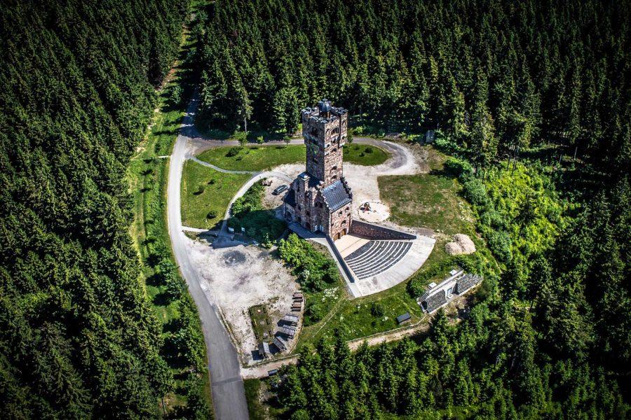 Altvaterturm, Lehesten