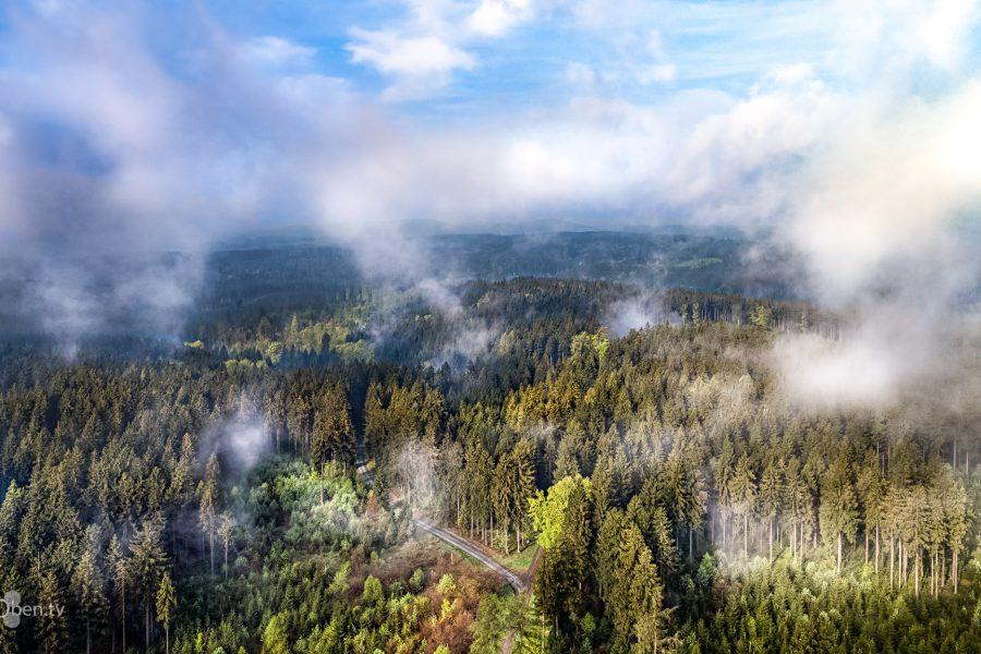 Nebelfelder am Rennsteig
